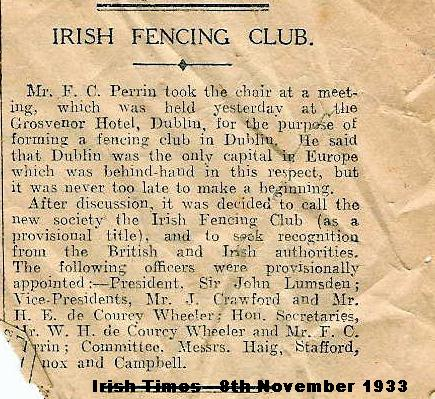 Irish Fencing Club
