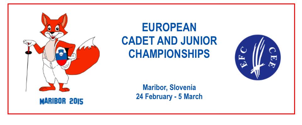 Cadet and Junior Europeans 2015